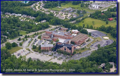 Aerial photo of the Medina (OH) Hospital