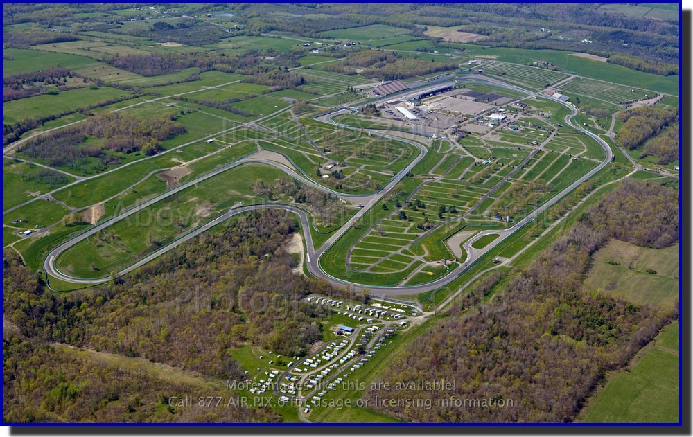 Watkins Glen Racetrak Aerial View