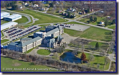 Mansfield Reformatory Aerial