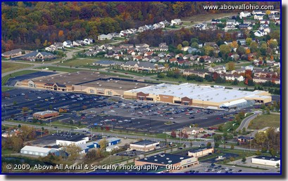 Aerial photo - shopping center in Medina, Ohio